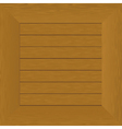wood frame board vector image