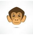 Attentive monkey vector image
