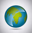 earth planet background vector image
