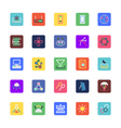Science and Technology Colored Icons 5 vector image