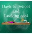 Welcome back to school template design plus EPS10 vector image