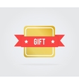 Gift card tag vector image