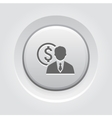 Value Icon Business Concept vector image