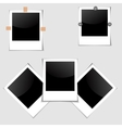Photo Frames set vector image