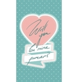 Will you be mine forever vector image