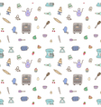 Seamless pattern of baking items vector image vector image