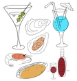 Food and drink vector image vector image