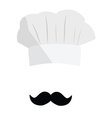 Cook hat vector image