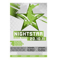 sport event poster active vector image