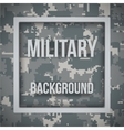Military modern pixel camo background vector image