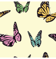 Butterfly seamless vector image