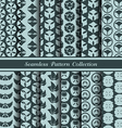 12 different japan traditional seamless patterns vector image vector image