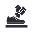 shoemaker icon vector image vector image