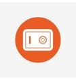 Safe sign icon Deposit lock symbol vector image