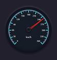 Speedometer 2 vector image