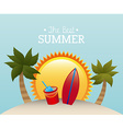 best summer vector image