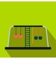 Children playground flat icon vector image