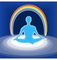 power meditation vector image