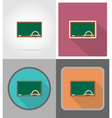 school education flat icons 08 vector image