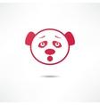 Surprised panda vector image vector image