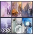 Abstract header background vector image vector image