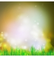 Abstract background with grass design for print vector image