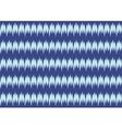 Decorative Blue Pattern Card Seamless Pattern vector image