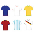 Football uniform vector image