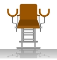 Gynecological chair vector image vector image