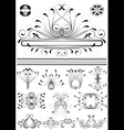 Collection of original frames vector image