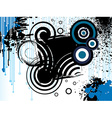 grungy abstract background vector image