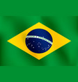 flag of brazil - vector image