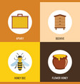 honey object cartoon style vector image