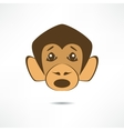 Surprised monkey vector image vector image