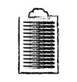 sketch clipboard paper document work vector image