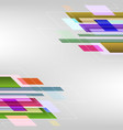 Abstract background with colorful straight lines vector image