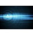 Tech dark HUD interface drawing background vector image