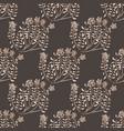 dark wild thyme seamless pattern vector image