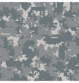 Digital camouflage seamless patterns vector image
