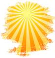 Sunbeams vector image