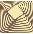 Abstract retro frame design vector image