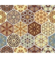 Bright seamless pattern tiles vector image