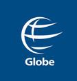 logo globe vector image