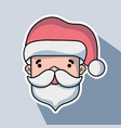 merry christmas celebration in december with vector image