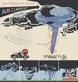 tornadoes vector image