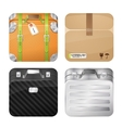Cases and parcel vector image vector image