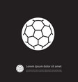 isolated football icon ball element can be vector image