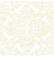 Seamless vintage wallpaper Abstract gold vector image vector image