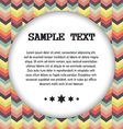 abstract geometric background for your text vector image vector image