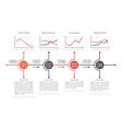 Business Timeline Design vector image